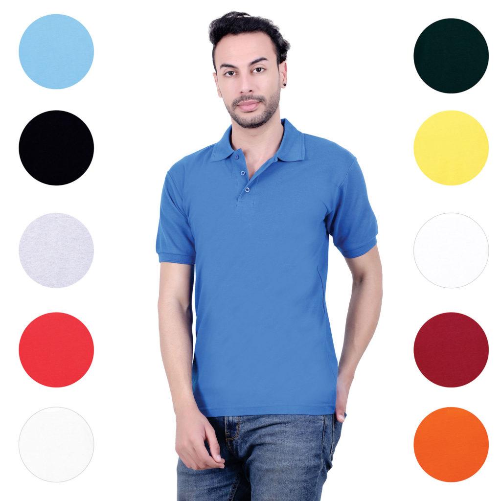 Pure cotton basic tshirts