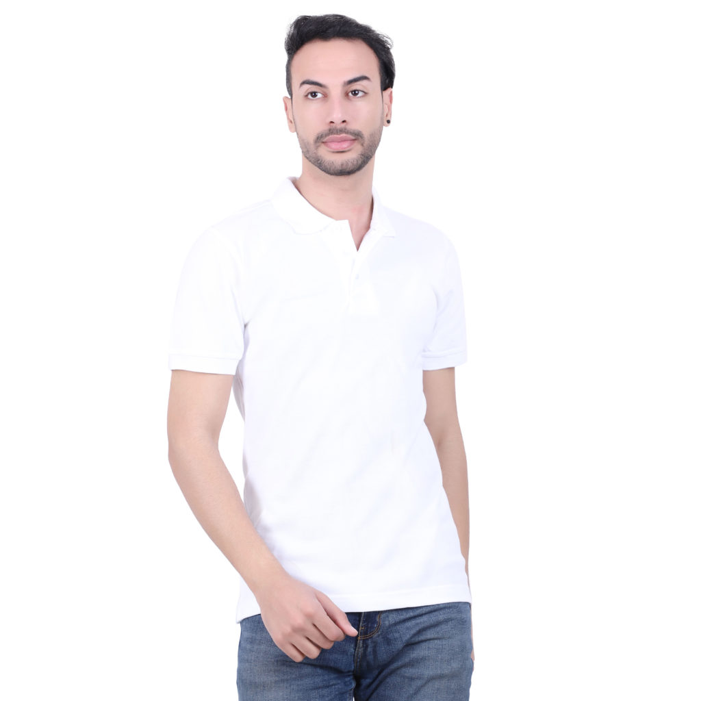 Premium cotton custom Tshirts White