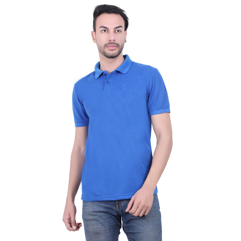 Polyester Tshirt Royal Blue