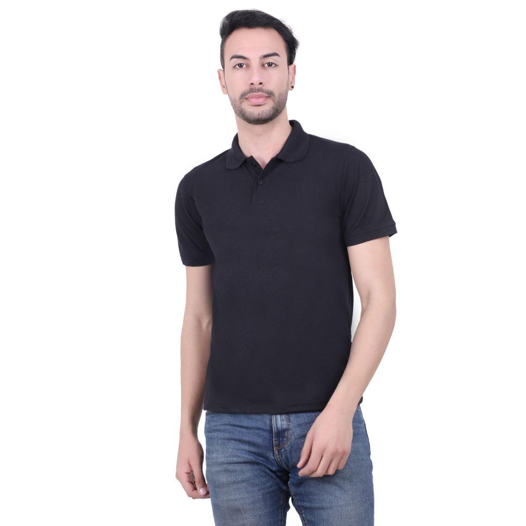 Polyester Tshirt Black
